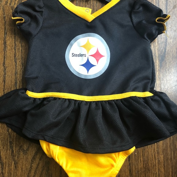 finest selection c83ec 31bb4 NFL Pittsburgh Steelers Girls Football Dress 🏈